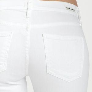 COH White Dita Bootleg Jeans